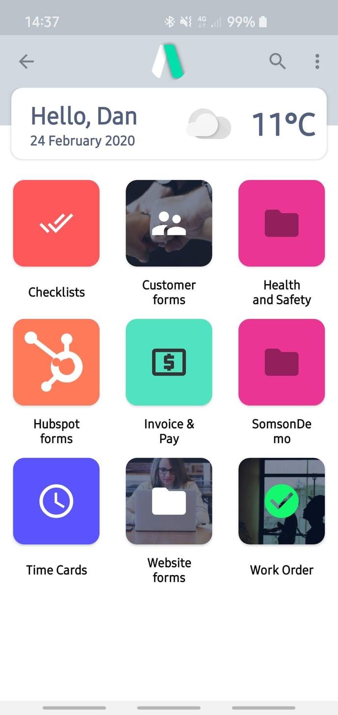 Andriod App Folders